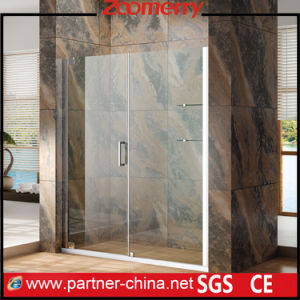 Frameless 10mm Thick Price Competitive Simple Shower Enclosure (MZ6221) pictures & photos