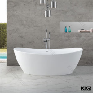 Kkr Modern Hotel Bathroom Freestanding Solid Surface Bathtub pictures & photos