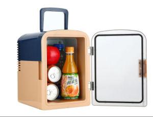 Transparent Door Electronic Cooler 6 Liter DC12V, AC100-240V for Car or Home Use pictures & photos
