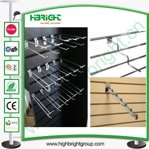 Supermarket Slat Wall Display Hooks with Chromed Finishing pictures & photos