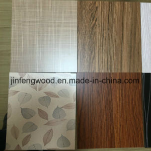 Cabinet Used Exported Best Color Wood Grain Melamine MDF Board pictures & photos