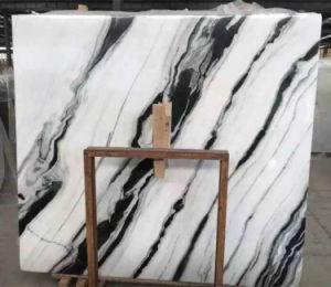 Panda White Marble Big Slab Guobao White Marble pictures & photos
