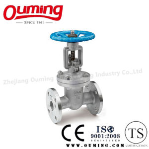 GB Stainless Steel Flanged Gate Valve with Handwheel pictures & photos