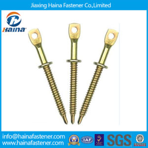 Yellow Zinc Plated Fish-Eye Bolt, Eye Bolts pictures & photos