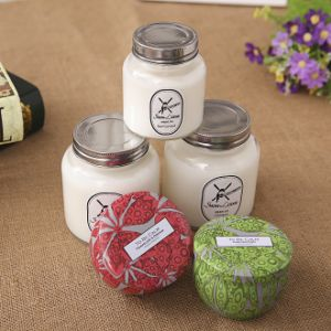 Home Decoration Natural Scented Soy Wax Candle pictures & photos