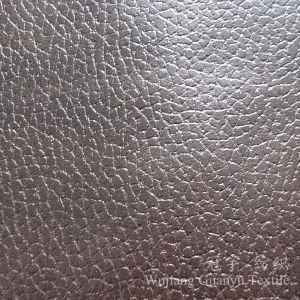Hot Stamping Microfiber Suedette Compound Fabric for Upholstery pictures & photos