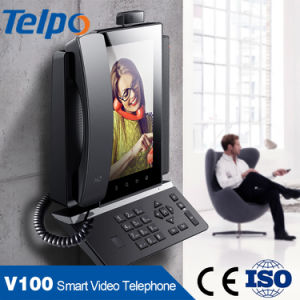 Android Telephone Wall Mount Touch Screen VoIP Video Door Phone with GSM
