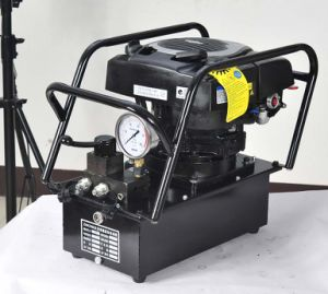 15L Gasoline Engine Driven Hydraulic Pump with Manual Valve pictures & photos