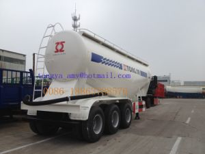 China Manufacture New Cement Bulk Powder Tanker Semi Trailer pictures & photos