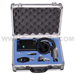 Medical Diagnostic Set Otoscope Ophthalmoscope (MT01012202) pictures & photos