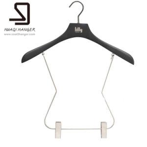 Swimwear Wooden Hanger, Black Hanger, Wooden Racks pictures & photos