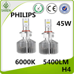45W 4500lm 6000k Philips LED Headlight for Car pictures & photos