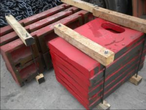 Toggle Plate for Jaw Crusher pictures & photos