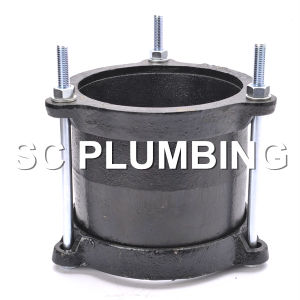 PVC Pipe Gibault with Flat Type Ring