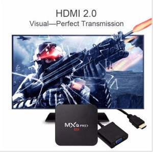 2016 Orginal Rooted Mxq PRO Amlogic S905 Quad Core Andorid 5.1 TV Box 1GB/8GB 2.4GHz WiFi H. 265 Full HD Kodi Pre-Installed Better Than Mxq pictures & photos
