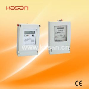 Dts5558 Three Phase Four Wire Electronic Active Energy Meter pictures & photos