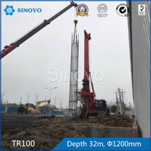 TR100 Rotary Drilling Rig for foundation engineering pictures & photos