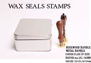 Copper Plate Wax Seals Stamps pictures & photos