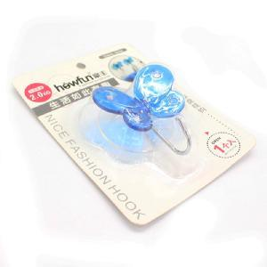 High Quality Blue Plastic Butterfly Shaped Hook Hanger pictures & photos