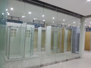 Movable Frameless Glass Wall for Office pictures & photos