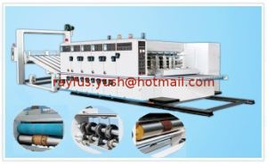Semi-Auto Flexo Printing Slotting Die-Cutting Machine pictures & photos