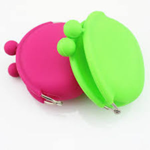 Cute Lovely Lady Silicone Rubber Key Wallet pictures & photos