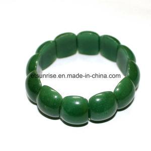 Semi Precious Stone Crystal Aventurine Beaded Bracelet pictures & photos