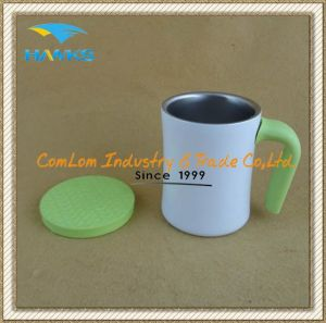 400ml Insulated Coffee Mug with Lid pictures & photos