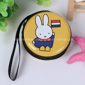 Custom Elegant Fancy Zippered Small Metal Tin Coin Purse pictures & photos