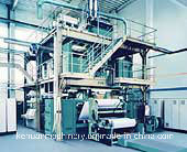 3.7m SSS Ppspun Bond Nonwoven Production Line pictures & photos