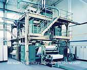 3.7m SSS Ppspun Bond Nonwoven Production Line pictures & photos