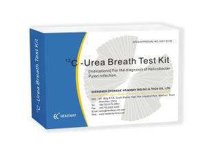 Diagnostic Kit-13c Urea Breath Test Kit pictures & photos