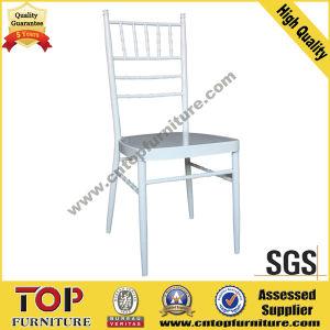 Hotel Soft Cushion Metal Banquet Chiavari Chair pictures & photos