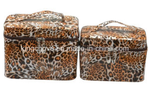 Latest Hot Fashion PU Cosmetic Bag (three PCS per set) (KCC243-2) pictures & photos