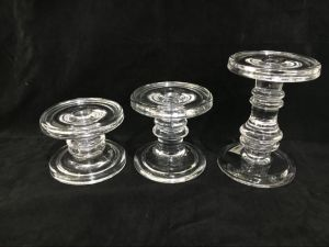 Candle Glass Pillar/ Jar Stand Large, Transparent 3.5-Inch/4.5-Inch/6-Inch pictures & photos