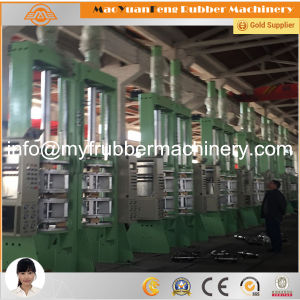 Rubber Tire Curing Presses Machine with BV, SGS, Ce Certification pictures & photos