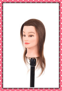 100% Human Hair Mannequin Head 22inches for Beauty School Training pictures & photos