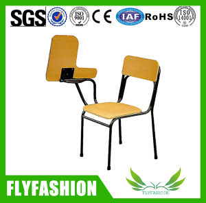 Cheap Wooden Student Chair with Writing Pad (SF-14F) pictures & photos