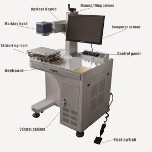 Best Quality Economic 10W Portable Fiber Laser Marking Machine pictures & photos
