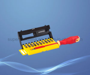 Easily Remove or Tighten Various Kinds of Setscrew of Sonic Screwdriver and Bit Set pictures & photos