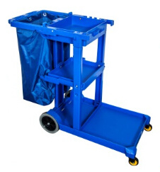 Hotel Cleaning Janitor Cart for Hotel Lobby (D-011) pictures & photos