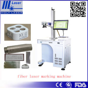 Low Cost Portable Desktop Fiber Laser Marking Machine Price/The Equipment for Manufacture of Covers for Mobile Phones pictures & photos