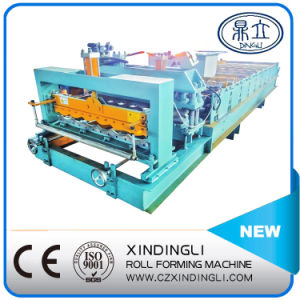 Popular Design Glazed Tile Roll Forming Machinery pictures & photos