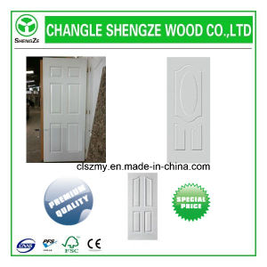 China Top Quality Level HDF Moulded White Primer Door Skin pictures & photos