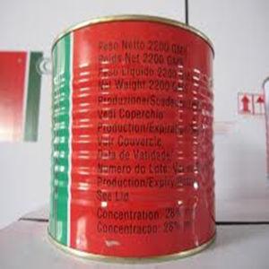 Supplying Bulk Tomato Paste in Tin 70g