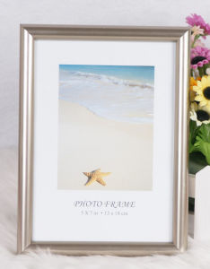 Plastic Hot Stamping Photo Frame /Photo Frame/Picture Frame/Wooden Grain Frame (M-BD) pictures & photos
