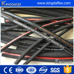En853 1sn Flexible High Pressure Industrial Hydraulic Rubber Oil Hose pictures & photos