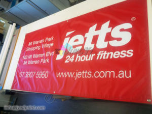 Custom design Outdoor/Indoor Event Advertising Vinly PVC Eyelets Banner pictures & photos