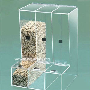 Clear Unique Custom Acrylic Supermarket Food Dispenser Box (BTR-K4013) pictures & photos