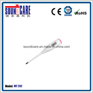 White/OEM Digital Thermometer with Beep (MT202) pictures & photos
